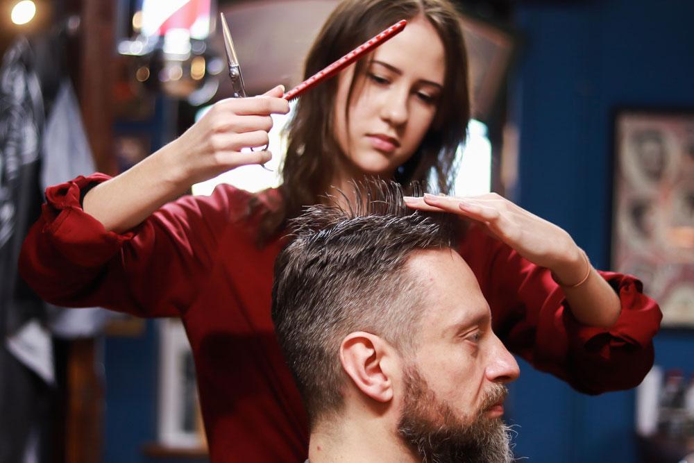 Praktyki fryzjerskie w Lublinie w barbershopie